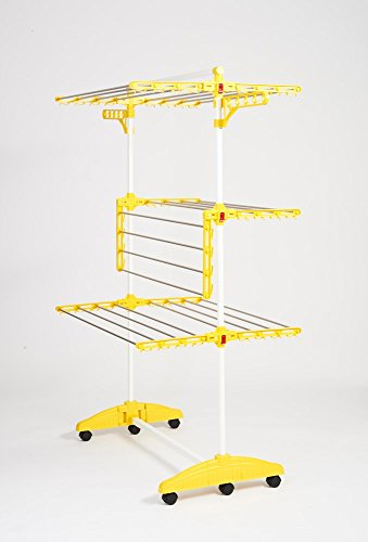 Hanuri One Touch Wäscheständer mit Kleinteilehalter, Modell 2013