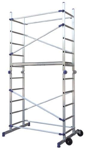 Facal Pinna Gelenkgerüst Alu Arbeitsgerüst Leitergerüst Einhand-Schnellverschluss Baugerüst...