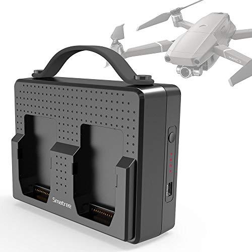 Smatree Caricabatterie per DJI Mavic 2 Pro/Mavic 2 Zoom Drone