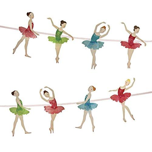 PrettyurParty Ballerina Paper Garland