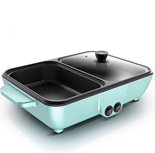 JOSN Fornello Elettrico per Uso Domestico, teglia da Forno, teglia, griglia elettrica Wok elettrica,...