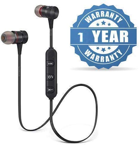 G S GOLDSTEIN STAR Magnet 4.1 Technology Bluetooth Headphones with Mic, Sound Control for All Android/iOS Devices
