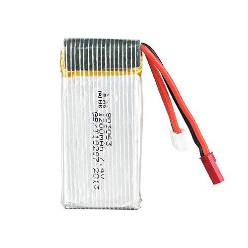 Zantec Batteria a Litio per MJX 101 / X102H 7.4v 1200MAH per Rc Quadcopter Drone