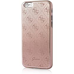 Guess GUCI015 - Carcasa metálica para Apple iPhone 6/ 6S, color rosa
