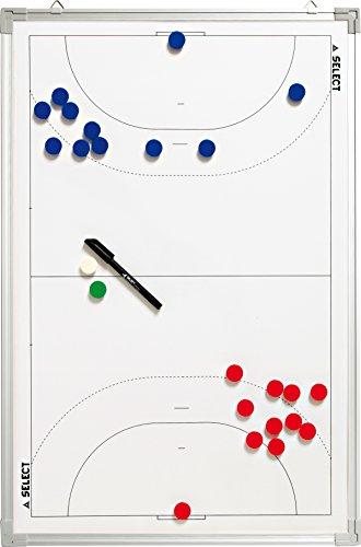 SELECT Alluminio Hand Ball Lavagna Tattica, Bianco, 90x 60cm