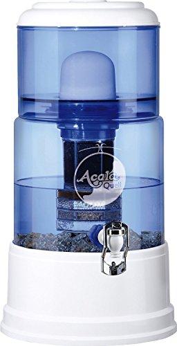 AcalaQuell Smart 12L water filter dispenser with cartridges bundle (white) (4 months of AcalaQuell Premium) (1 cartridge)