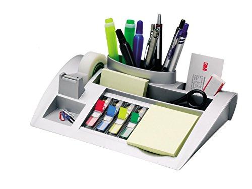Post-it C50 Organizer da scrivania con Post-it Notes, segnapagina Post-it Index e nastro Scotch...