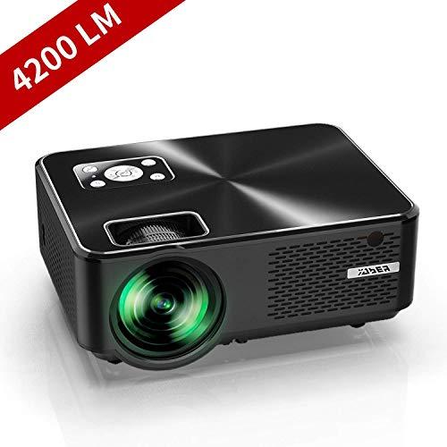 YABER Proiettore 4200 Lumen Mini Proiettore Portatile nativa 1280*720P Supporto 1080P LED...