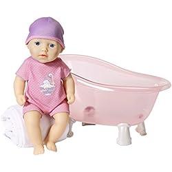 Zapf My First Baby Annabell Bathing Doll muñeca - Muñecas (Rosa, Chica, 1 año(s), CE, 300 mm, 365 mm)