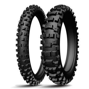 Michelin 100/90-19 57R AC10 TT Hinterrad Motorradreifen 1