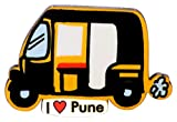 Eco Corner - Pune Auto - Magnet - MDF/Recycled Material/Perfect Souvenir