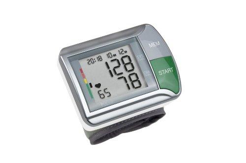 Medisana 51067 Sfigmomanometro da Polso, Indicatore aritmie, 60 spazi di memoria per ciascuno dei 2...