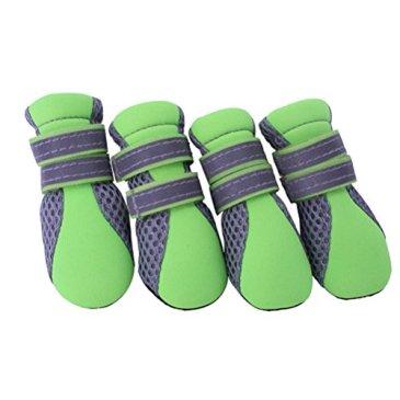 UEETEK Été Chaussettes respirantes à petit chien Chaussures à neige sans pate à laine taille unique Taille XL-2.3 * 1,9 pouces (L * W)