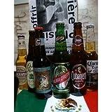 """COFFRET DECOUVERTE 6 BIERES DU MONDE""""MEXIQUE/CUBA"""" livrées dans son coffret cadeau. LIVRAISON OFFERTE !"""