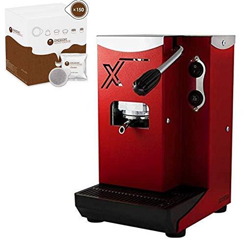 Aroma X - Macchina da caffè a cialde ese 44 mm misure ridotte facile utilizzo ottime prestazioni...