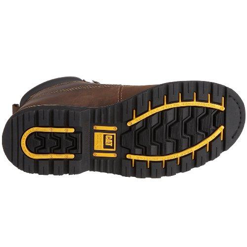Caterpillar - Holton Sb - Bottes de Sécurité - homme Marron (Chocolate) 46 EU 25