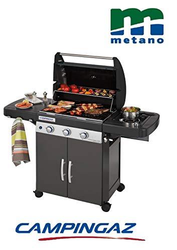 Campingaz Barbecue Dual Gas GPL TRASFORMABILE A METANO con OMOLOGAZIONE Modello 3 Series Classic LS...