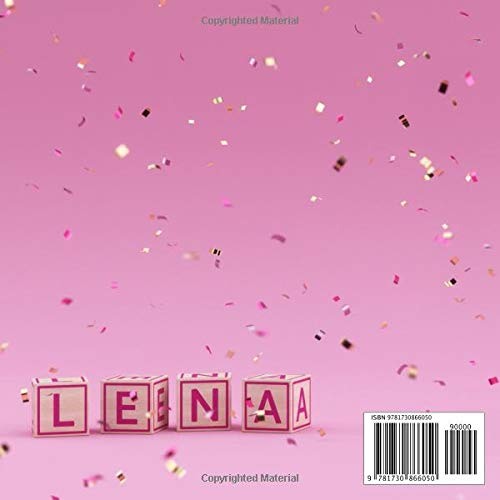 Buon Compleanno Lena: Libro degli Ospiti per Compleanno di Bambina – Copertina Rosa