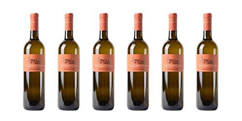 6 bottiglie di Friulano DOC dei Colli Orientali del Friuli | Cantina Petrucco | Annata 2017