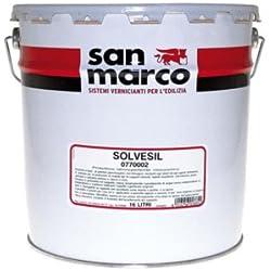 San Marco SOLVESIL protettivo idrorepellente silossanico per interno-esterno, colore trasparente, size 5 lt