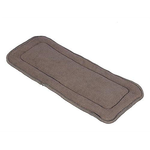 Filler di carbone di bambù pannolino per adulti 5 strati pannolino di stoffa per pannolini di stoffa materasso lavabile 2 taglie disponibili(S)