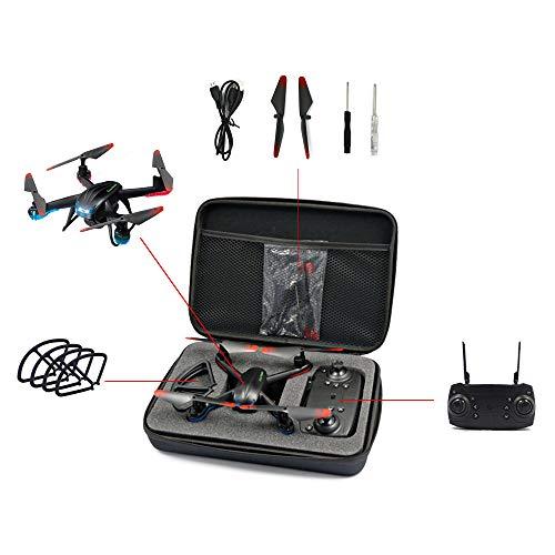Qiyun Drone per Bambini,Global Drone GW007-3 RC Quadrocopter FPV Droni con Fotocamera HD High Hold...