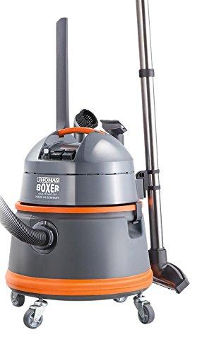 Thomas Boxer 788119 robuster und leistungsstarker Nass-Trocken Waschsauger, 1400 W, 4 Bar, grau / orange