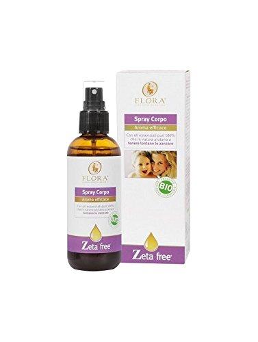 Flora Zeta Free Spray Corpo - 100 ml