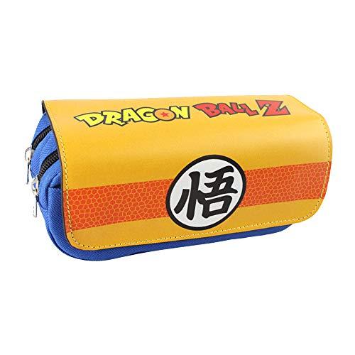 Dragon Ball Astuccio per Matite Caso della matita degli accessori della scuola della chiusura lampo...