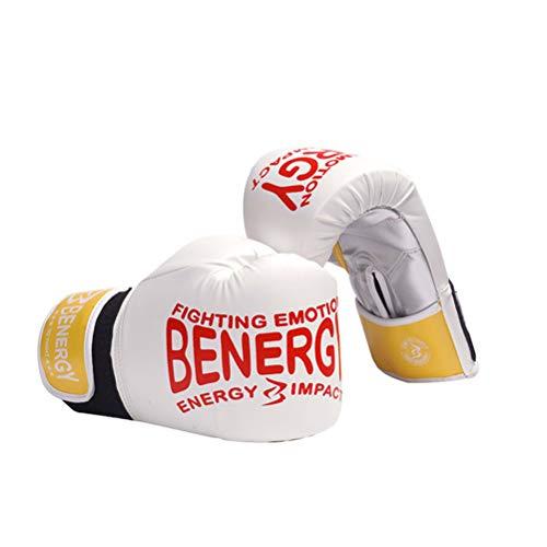 Jingya Guantoni da Boxe 6oz / 8oz Guanti da Boxer per Bambini Guanti da Boxe in Pelle per MMA,...
