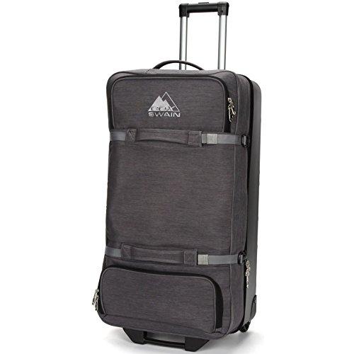 Cox Swain Darrel Wheeled Travel Bag - Holdall, Trolley 90 Liter, Colour: Dark Grey