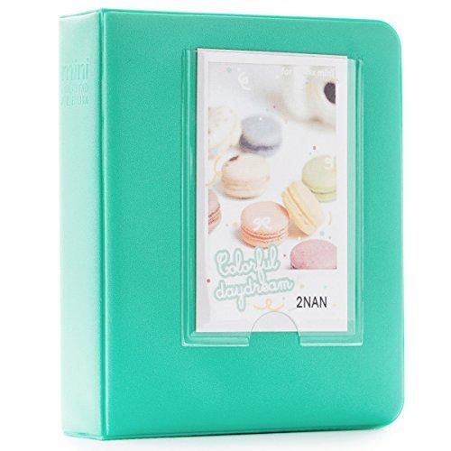 CAIUL 64 Pockets Plastic Fujifilm Instax Mini Book Album (Mint)