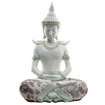 Decorativo floral iluminación-Figura decorativa de Buda, altura: 26cm, ancho: 18cm), profundidad 14cm 3