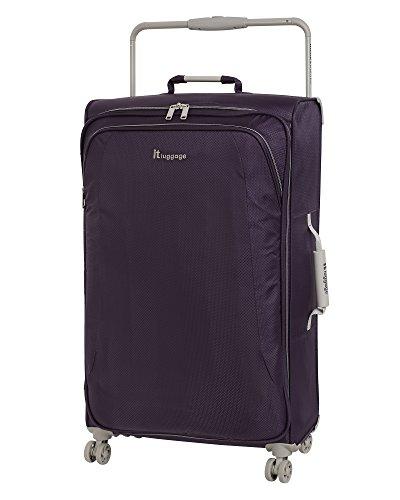 "it luggage World's Lightest 31.5"" 8 Wheel Lightweight Spinner, Purple Pennant"