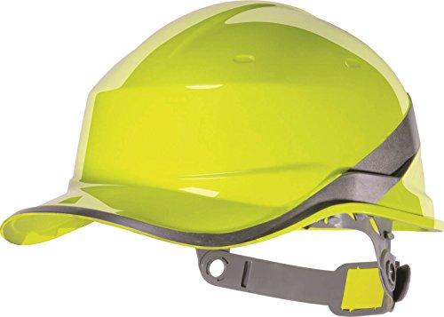 Delta plus Venitex Diamond V casco de seguridad Hardhat para hombre nueva protección de la cabeza amarillo amarillo Talla única