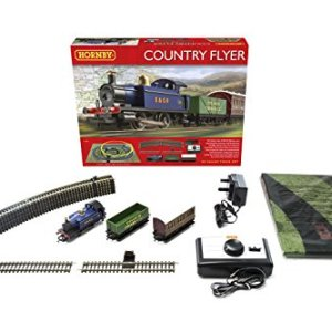 Hornby R1188 Country Flyer Complete Starter Train Set 41YeFUvIpwL