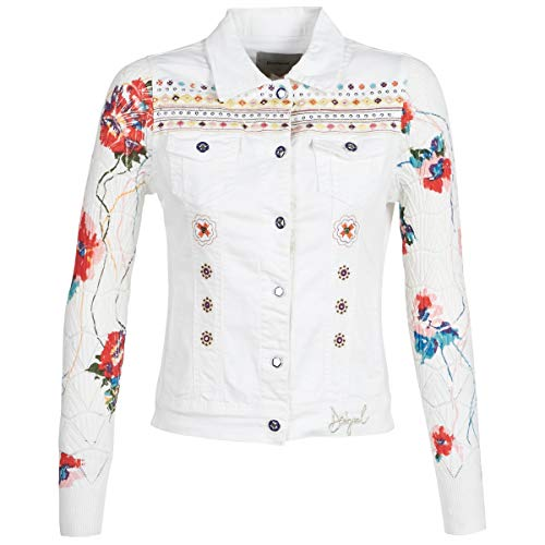 Desigual Carrie Giacche Donne Marine - IT 42 (EU 38) - Giacche in Jeans