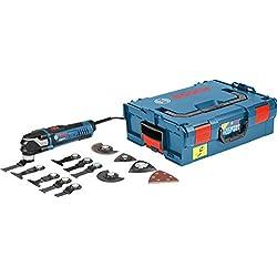Bosch Professional Multi-Tool GOP 40-30 (16 tlg. Zubehörset, Starlock Plus, L-Boxx, 400 Watt)