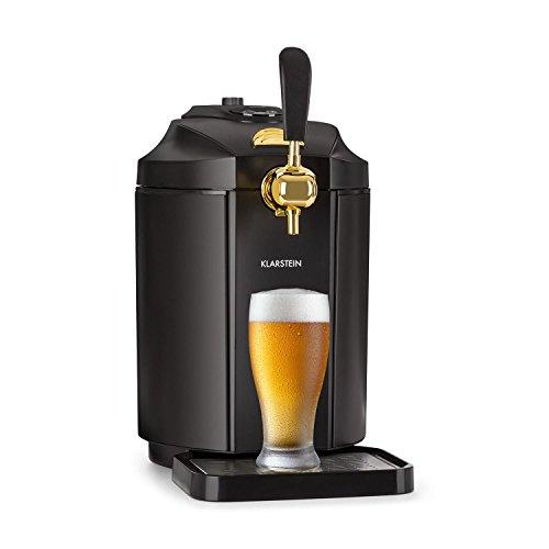 Klarstein Skal • Spillatore Birra • Refrigeratore Birra • Fusti da 5l • Sistema di Cartucce...