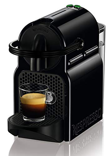Nespresso Inissia De'longhi EN80.B, Macchina per Caff? Espresso, 1260 watt, 19 bar, Nero