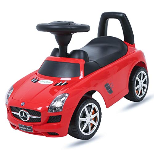 Baybee Mercedes Benz Officially Licensed Push Car - Red