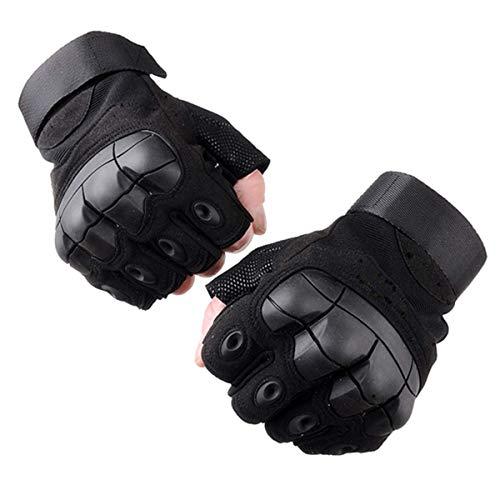 Selighting Taktische Handschuhe Motorrad Handschuhe Herren Halbfinger Sporthandschuhe für Airsoft Militär Paintball Motorrad Fahrrad 1