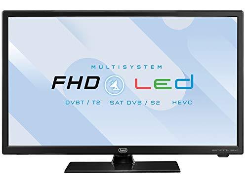 Trevi LTV 2202 SAT Televisore LED 22' con Decoder Digitale Terrestre DVBT-T2 e Satellitare DVBS-S2,...