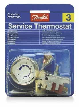 Danfoss 077B7003 - Termostato (n° 3) per frigoriferi a 2 ante Electrolux