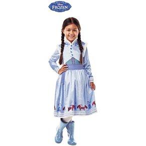 Rubies-640767-S Frozen Disfraz Anna Deluxe infantil