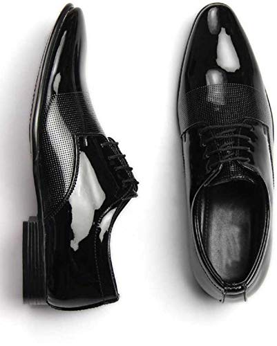 United Fashion Men's Formals Shoes (8, Black)
