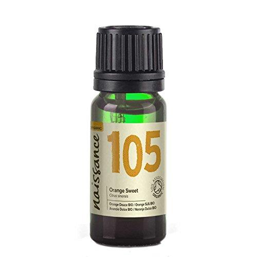 Naissance Olio di Arancio Dolce Biologico – Olio Essenziale Puro al 100% - 10ml