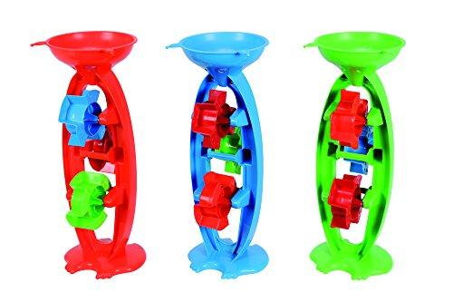 Androni- 7106631-Mulino a Sabbia, con 3 rotelle, Circa 35 cm, Colore Assortiti, 711.201.0