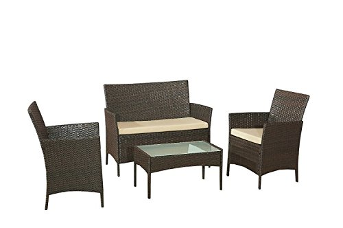 EBS Garden Furniture Set Table Chair and Sofa Review