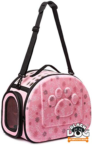 BLACK DOG Carry Bags for Pets Portable Pet Handbag Carrier Comfortable Travel Carry Bags for Cat Dog Puppy Small Animals Apricot Small 32 * 20 * 22 - (Color May Vary).
